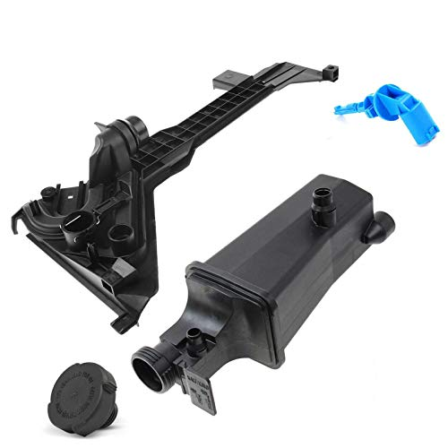 A-Premium Engine Coolant Recovery Tank with Mount Bracket Compatible with BMW 325 325 328 330 i Ci xi 1999-2006 L6 2.5L 2.8L 3.0L Set of 2