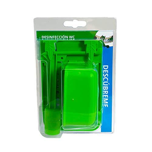 DesinfecciónWC - Colgador de Inodoro para Cisterna Rectangular - Limpie y Desinfecte el Inodoro con Lejía u Otro Desinfectante Que Elija [Producto Patentado]
