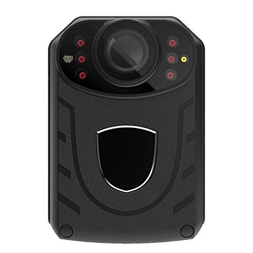 Grabadora De La Ley HD Visión Nocturna 1296p Cámara De Luz De Comportamiento De Seguridad Portátil Botón F23A versión 128G