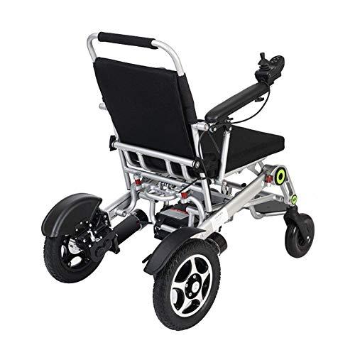 Carrozzina elettrica Automatica Anziani disabili disabili Auto Anziani Intelligente Compatto Portatile Leggero Scooter Installazione Gratuita, Portatile Pieghevole