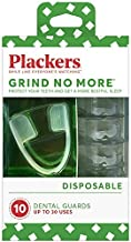 Plackers Grind No More Dental Night Guard for Teeth Grinding, 10 Count