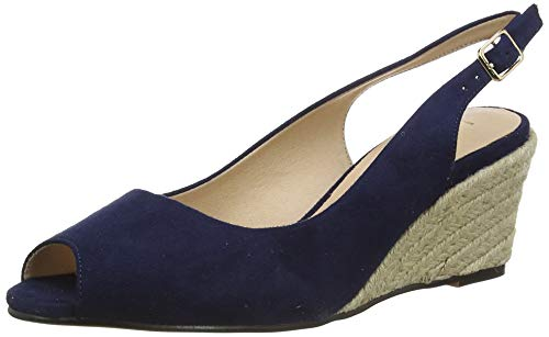 Lotus Tiffany, Espadrillas Donna, Blu (Navy De), 40 EU