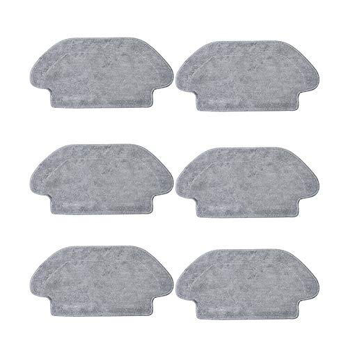 Buy Bargain Wishful 6 Pcs Robot Vacuum Cleaner Mop Cloth Cleaning Cloth Rag Fit for Xiaomi Mijia STY...