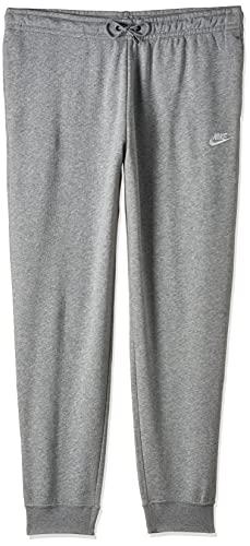 NIKE Sportswear Essential W Pnts Pantalones de Deporte, Mujer, Gris (Dark Grey Heather/White), XS