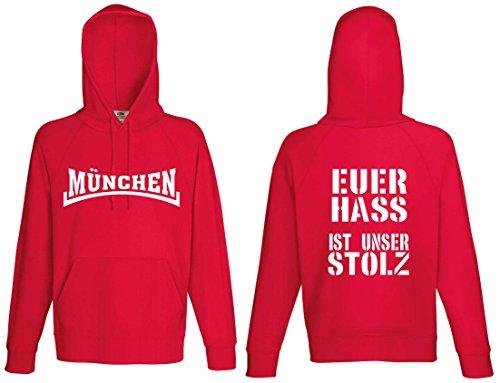 world-of-shirt / München Euer HASS ist unser Stolz Kapuzensweat Hoodie