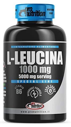 Pronutrition L-Leucina Barattolo da 120 Compresse da 1g Con Vit B6. Adatto a Vegani