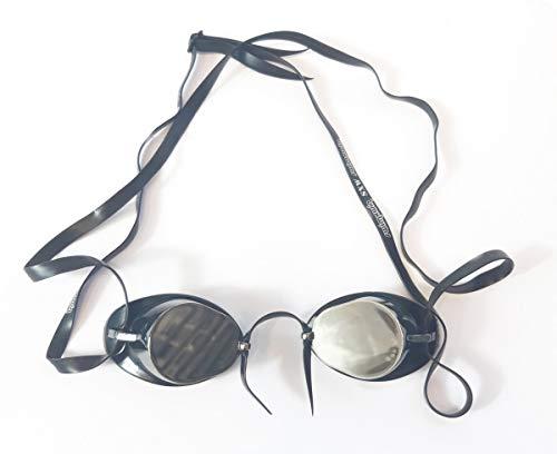 SWIMXWIN Occhialini da Nuoto The Original Frank Gara e Allenamento Anti Appannamento Protezione UV (Specchio)