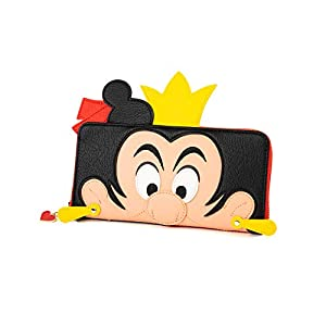 Loungefly x Alice in Wonderland Queen of Hearts Cosplay Zip-Around Wallet