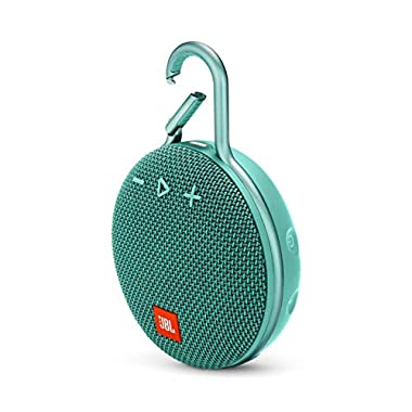 JBL Clip 3 Portable Waterproof Wireless Bluetooth Speaker - Teal
