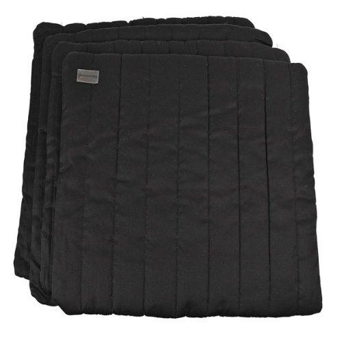 Bandagierkissen, 4er Set, schwarz