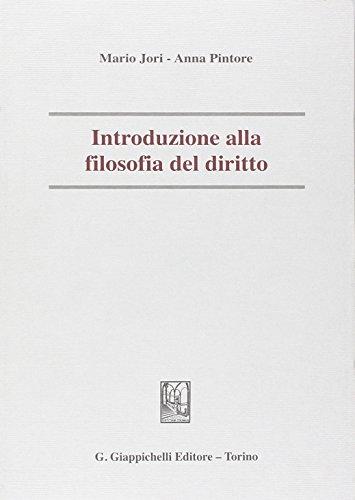 Introduzione alla filosofia del diritto