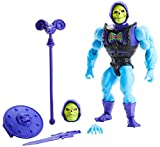Masters of the Universe (Masters del Universo Orígenes) Figura Skeletor, muñeco articulado de juguete con accesorios (Mattel GVL77)