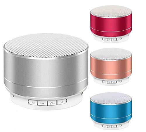 Portable Bluetooth Speakers Wireless Speaker Stereo Bass Loud Universal (Red)