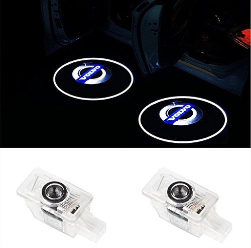 Einstiegsbeleuchtung Laser Projektor Door Logo Licht für S80 S60 S80L S60L V60 V40 XC60 XC90 (2 Stk)