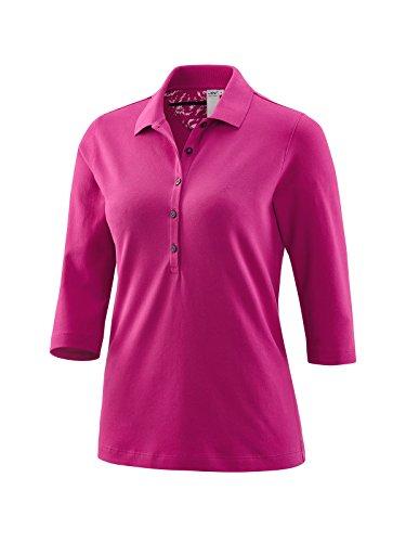 JOY sportswear Bonnie Damen Polo mit 3/4 Arm für Sport, Fitness & Freizeit 42, Granita