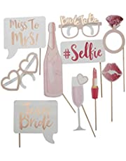 10Pcs Team Bride To Be Photo booth Hen Party Photo Booth Prop Wedding Decoration Bridal Shower Bachelorette Party Supplies