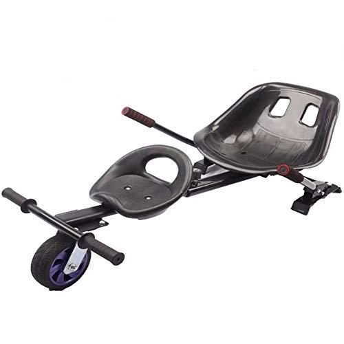 "Wxnnx Accesorio para Asiento de Hoverboard, Kit de transformación de go-Kart para Dos Personas, Accesorios para hovercart para Marco Ajustable de Scooter autoequilibrado de 6.5""/ 8"" / 10"",B"