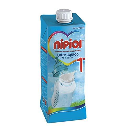 Nipiol Latte Liquido 1 - 12 confezioni da 500 ml - Totale: 6 l