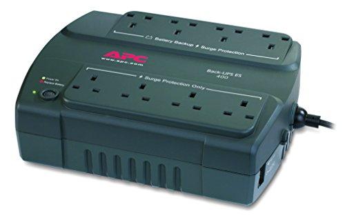 APC by Schneider Electric Back-UPS ES - BE400-UK - Uninterruptible Power Supply...