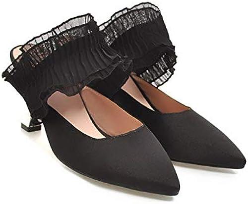 HommesGLTX Talon Aiguille Talons Hauts Hauts Sandales Nouveau Mode Femmes Mocassins Chaussures Chaussures Diapositives Pantoufles Sandales Chaussures Femme Tongs  les ventes chaudes