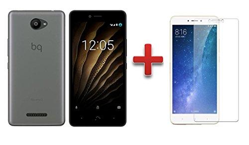 Theoutlettablet® Funda Smartphone Bq Aquaris U/U Lite Gel Transparente - Carcasa Ultra...