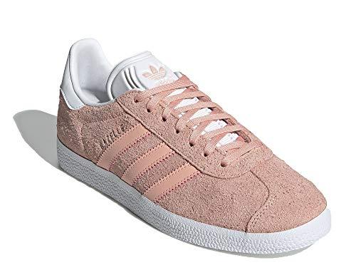 adidas Originals Zapatillas Gazelle para mujer, color Rosa, talla 38 EU