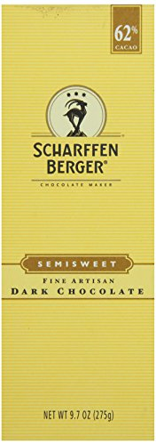 Scharfeen Berger, Artisan Dark Semi Sweet Chocolate Bars, 9.7 oz