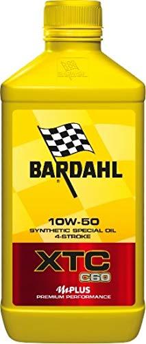 Olio Moto Bardahl XTC C60 4T 10W50-3x 1 lt