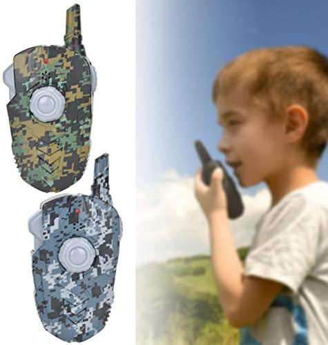 Interactief speelgoed simulatie bidirectionele radio voor kinderen binnen buiten voor kerst verjaardagscadeausOne to two colors