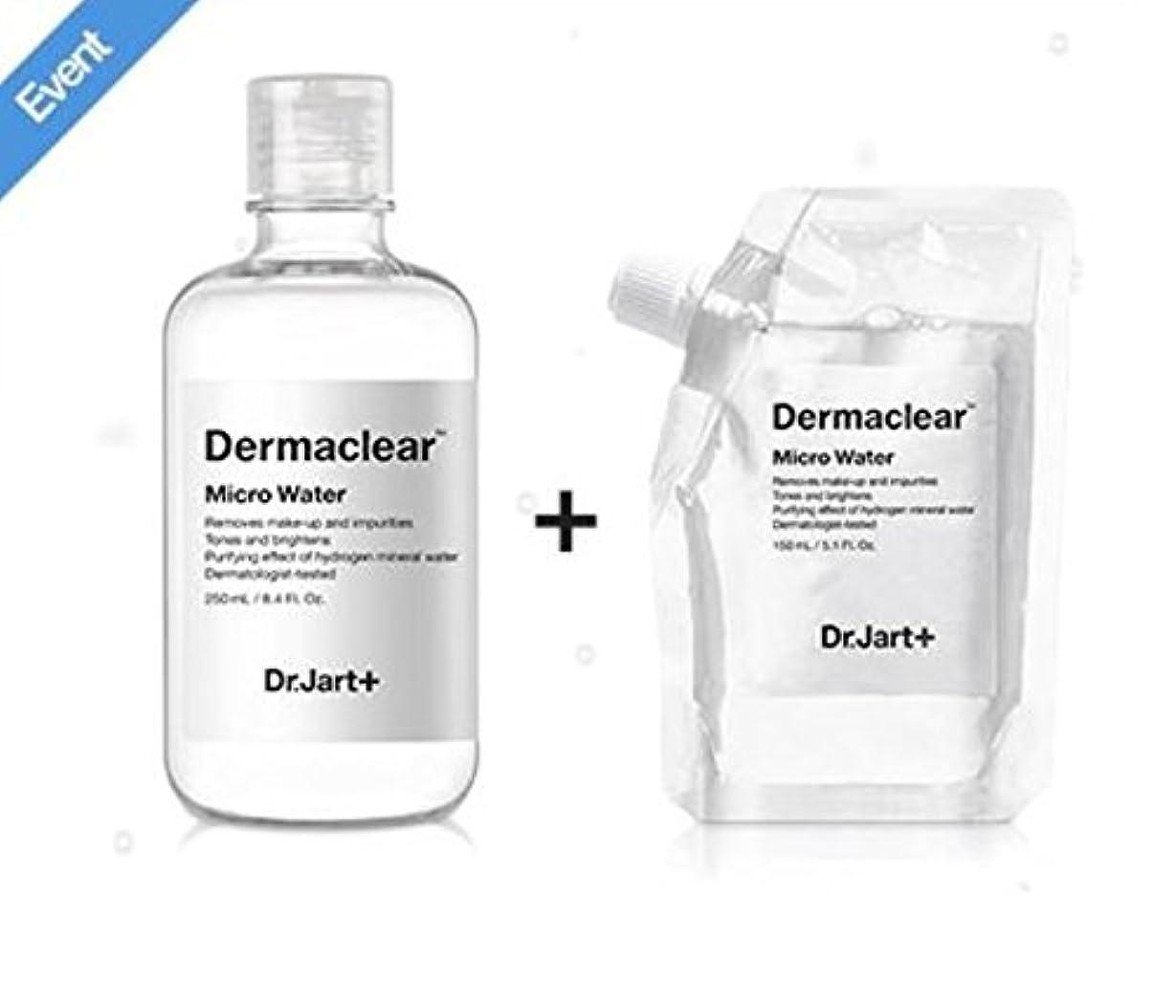 不実パケット寄付するドクタージャルト[韓国コスメ Dr.Jart+]ダーマクリア マイクロ ウォーター250ml+150ml(リフィル) [korean cosmetic Dr.Jart+]Dermaclear Micro Water (250ml+150ml) [並行輸入品]