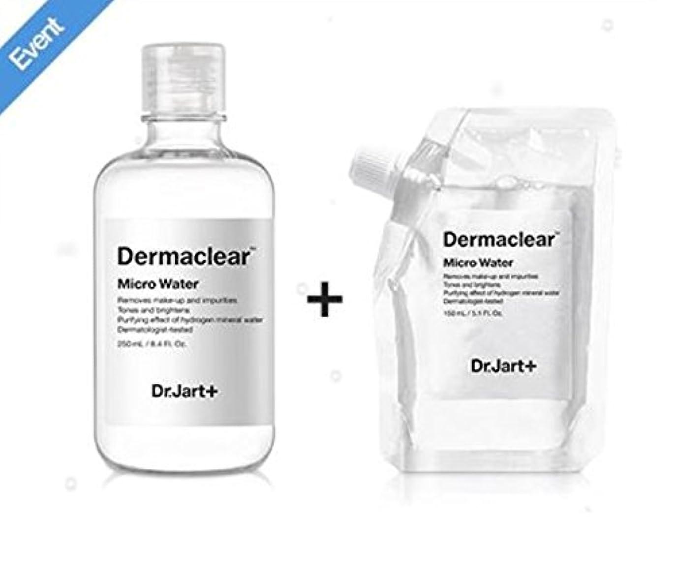 時みすぼらしいコカインドクタージャルト[韓国コスメ Dr.Jart+]ダーマクリア マイクロ ウォーター250ml+150ml(リフィル) [korean cosmetic Dr.Jart+]Dermaclear Micro Water (250ml+150ml) [並行輸入品]