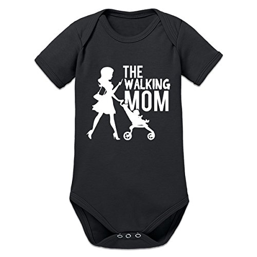 Shirtcity The Walking Mom Mobile Phone Baby Strampler by