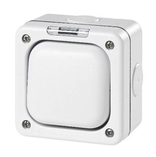 MK Masterseal Plus K56400HI - Interruttore singolo unipolare, semplice, 10 amp