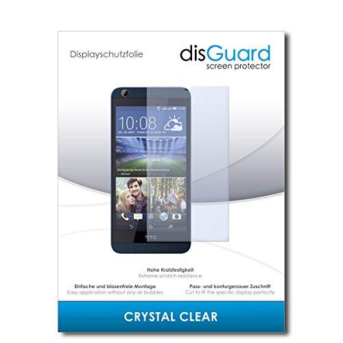 disGuard Bildschirmschutzfolie für HTC Desire 626G Dual SIM [2 Stück] Crystal Clear, Kristall-klar, Unsichtbar, Extrem Kratzfest - Bildschirmschutz, Schutzfolie, Glasfolie, Panzerfolie