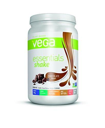 Vega Essentials Nutritional Shake, Chocolate, 21.6oz by Vega