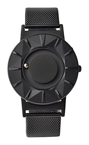Reloj de Cuarzo Eone Bradley Element, 40 mm, Negro, Malla milanesa, BR-CE-B