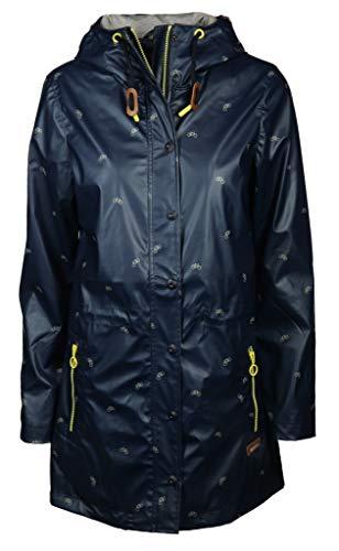 soquesto Damen Mantel Größe 36 EU Blau (blau)