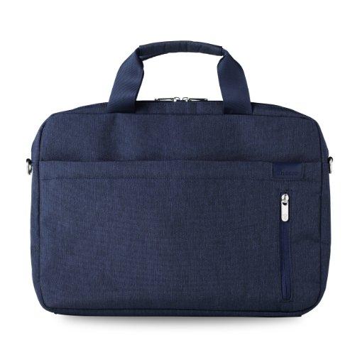 cheero Laptop PC Bag CAMPUS (14 inch, Dark Blue)