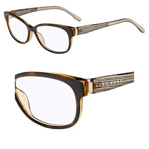 Hugo Boss BOSS-0851-B8U-54-15-140 Boss Brillengestelle BOSS-0851-B8U-54-15-140 Rechteckig Brillengestelle 54, Braun
