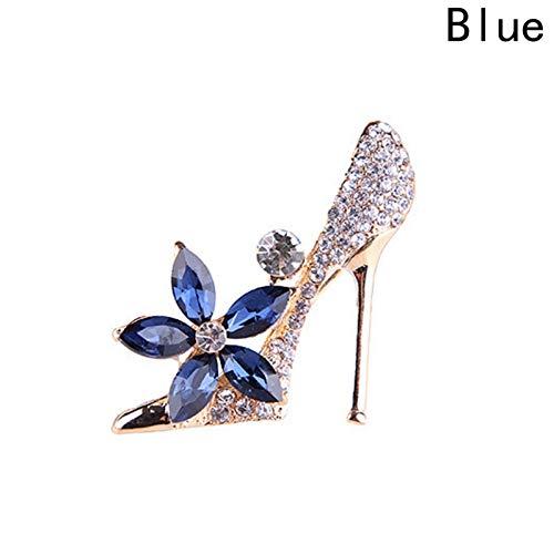 SDSDF Zapatos Broches De Cristal Grandes para Mujeres Hombres Vestido De Cuello...