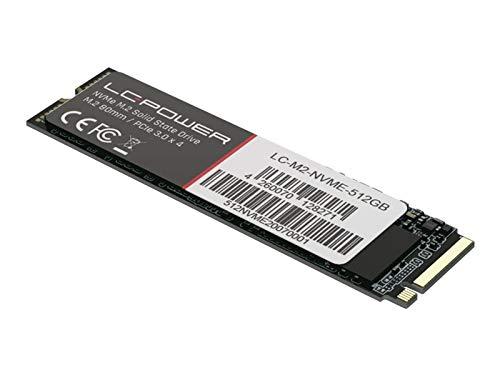 LC Power Phenom Series - Disco de estado sólido (512 GB, PCI Express 3.0 x4)