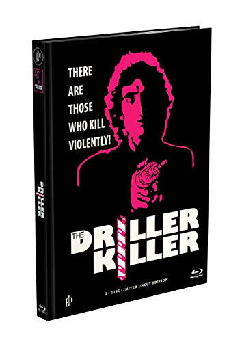 THE DRILLER KILLER - 2-Disc Mediabook Cover D (Blu-ray + DVD) Limited 66 Edition - Uncut