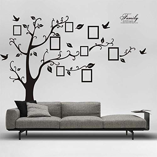 Behang 3D DIY Photo Tree PVC muur Stickers Home Decoratie Stickers Lijm Originatieve Sticker Wallpaper Stickers Mural Art Huishoudelijke Decor behang pasta Zoals laten zien