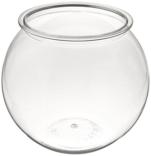 Koller Products Panaview 1-Gallon Globe Fish Bowl (BL10RPET)