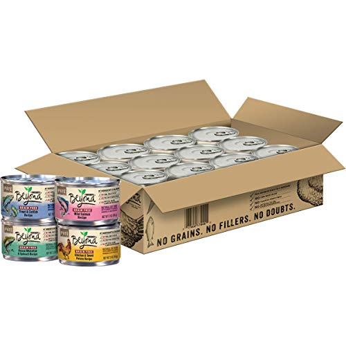 Price comparison product image Purina Beyond Grain Free Adult Wet Cat Food Variety Pack - (24) 3 oz. Cans (Packaging May Vary)