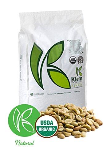 Single Origin Organic Unroasted Green Coffee Beans, Specialty-grade, Direct trade, Brazil   Klem-C05   Brazil Arabica Red Catuai Varietal, Single Origin, NY 4, Screen 15/16- (11 L/B) - (5 KG)