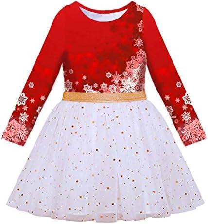 VIKITA Toddler Girl Dress Winter Long Sleeve Tutu Party Dresses for Girls 3 7 Years Knee Length product image