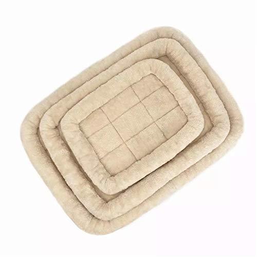 CHSDN Colchón de Cama para Perros, colchón Lavable, colchón Antideslizante para Mascotas, cojín para Perros, colchón Lavable para Mascotas