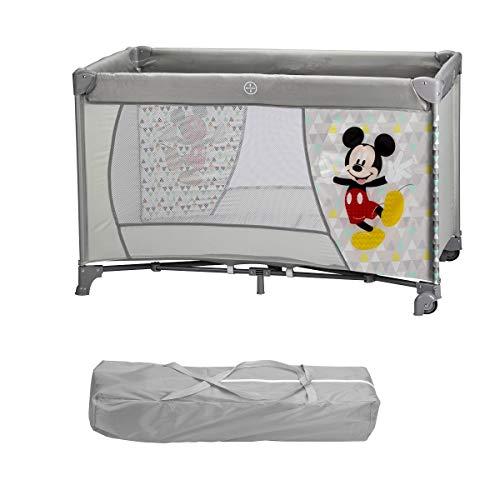 Interbaby Mk009 - Cuna De Viaje Disney Mickey Mouse Color Blanco 2