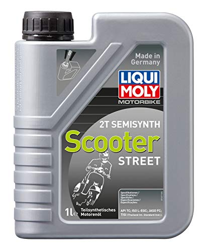 LIQUI MOLY 1621 Semi Synth Scooter Street, 1 L